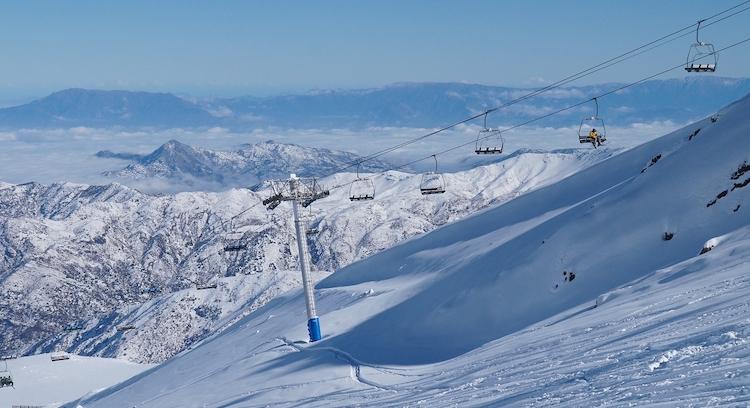 Andariveles en Centro de Ski La Parva