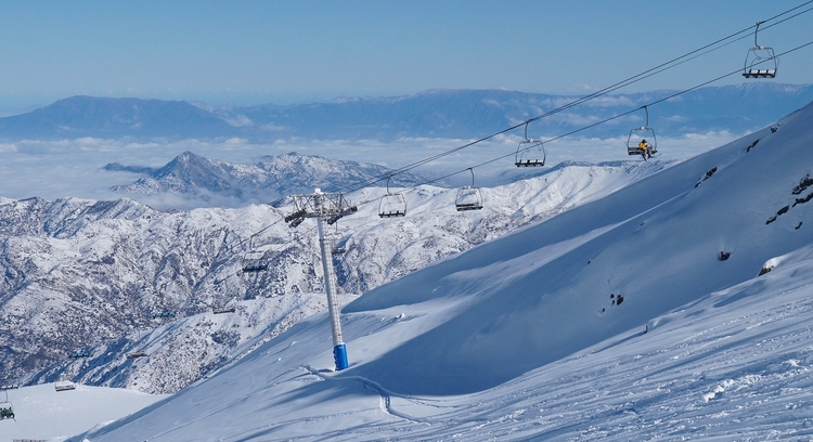 Lifts in La Parva