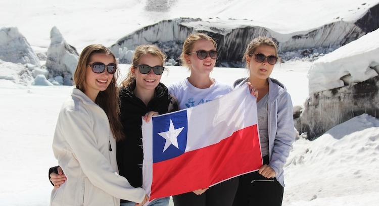 Aventura en Glaciar El Morado