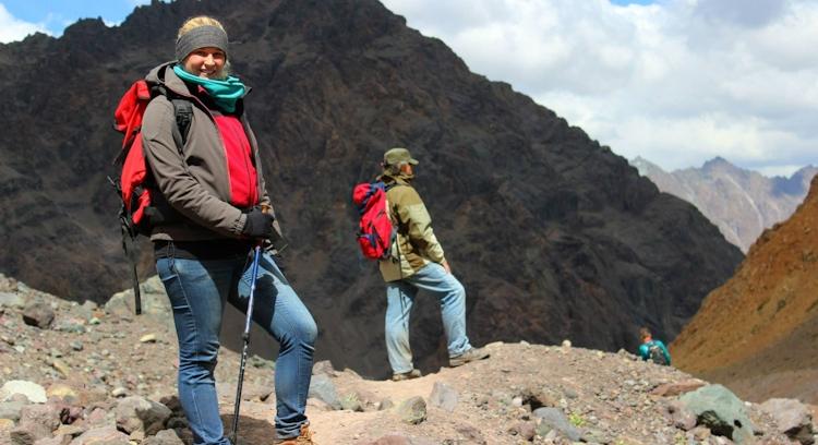 Trekking en Cordillera de los Andes