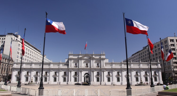 palácio do governo do chile