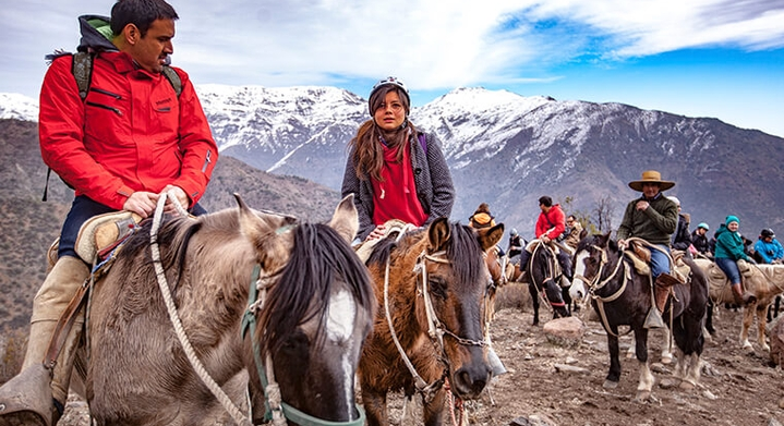 Cabalgata en Farellones Chile