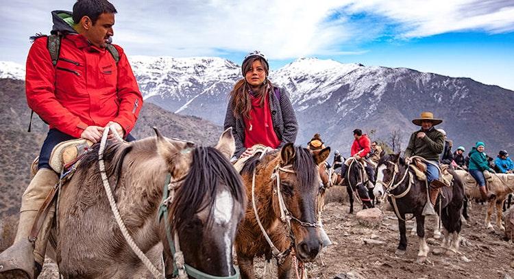 Horseback riding in Farellones Chile