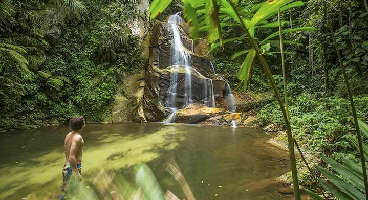 Cascada de Pucayaquillo