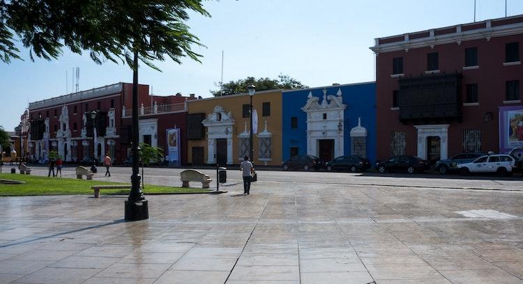 Edificios patrimoniales en Trujillo
