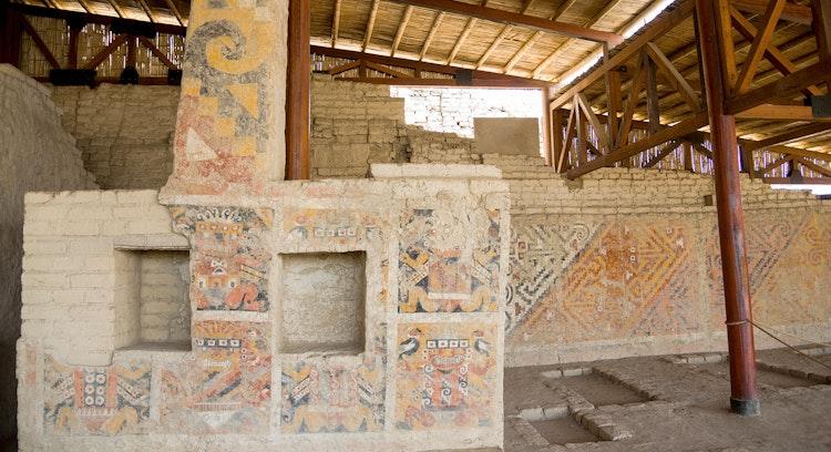 Ruinas cerca de Trujillo