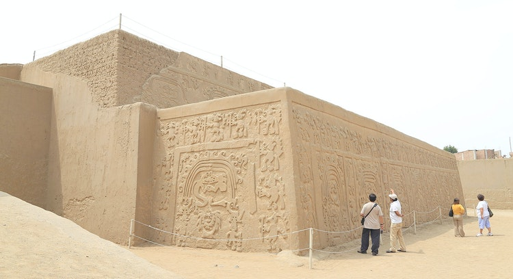 Sitio arqueológico Perú