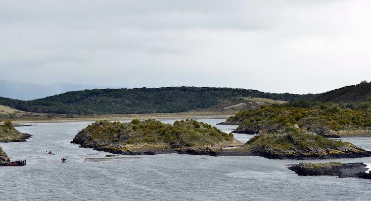 Isla Gable en Ushuaia