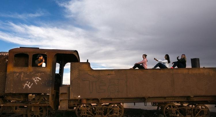Cementero de Trenes tour Uyuni